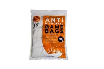 Picture of Koola Buck Anti Microbial Game Bag, Elk Quarter Bags, 4 PK