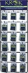 Picture of Krok Crane Barrel Swivel Display, 6 EA OF 18 Items