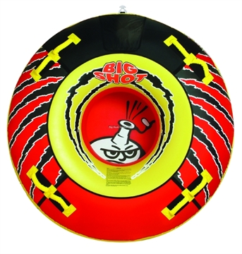 "Picture of Kwik Tek Airhead Big Shot 76"" Round 4-Rider Towable"
