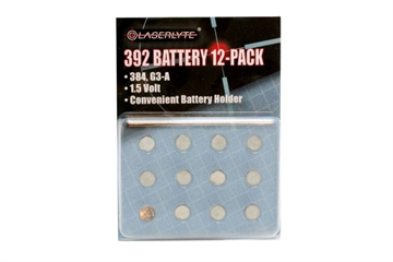Picture of Laserlyte Batteries 12 PK 392