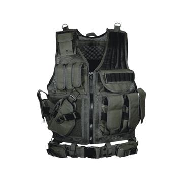 Picture of Leapers 547 Law Enforcement Tactical Vest - LH Black