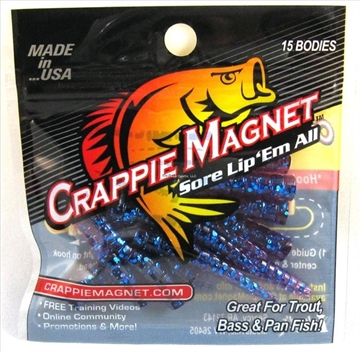 Picture of Leland Lures Crappie Magnet 15 Pc. Body Pack, Midnight Blue, 15/Pack