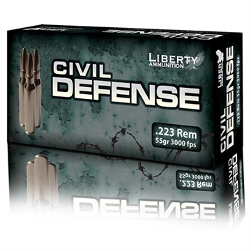 Picture of Liberty Ammo 223 55Gr Frag HP Civ Def