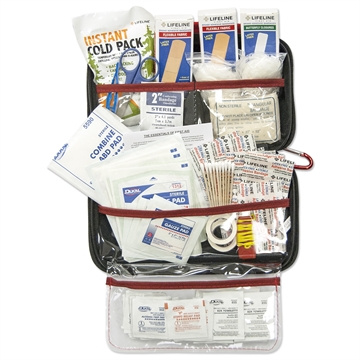 Picture of Lifeline Deluxe Hard Shell Foam First Aid Kit 121 Pieces