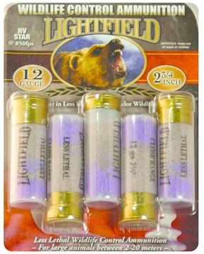 Picture of Lightfield 12Ga 2 HV (High Velocity) Rubber Star 5/Bx