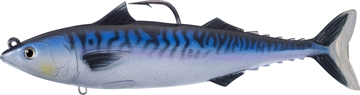 Picture of Livetarget Atlantic Mackerel Swimbait (Oscillator Tail), 7 IN 2 3/8 Oz, Silver/Blue