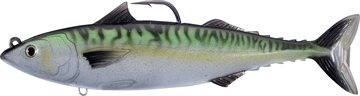 Picture of Livetarget Atlantic Mackerel Swimbait (Oscillator Tail), 7 IN 2 3/8 Oz, Silver/Blue/Green
