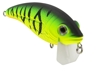 Picture of Livingston Lures Bull Nose Fw, Matte Tiger, 2.76 In, 0.5679114 Oz, Shallow Diver, Ebs? Sound Technology, #4