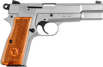 """Picture of Lkci Regent Br9 9Mm 4.6"""" 13Rd Stainless Steel"""