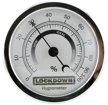 Picture of Lockdown 222111 Vault Hygrometer With Fastener/Hook