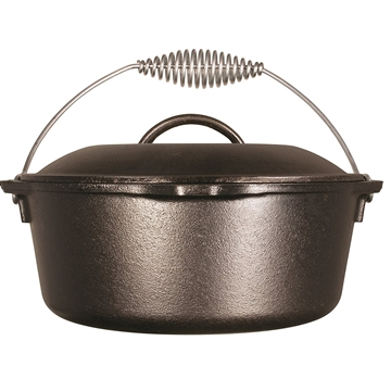 Picture of Lodge 10In Cast Iron Dutch Oven Pre-Seasoned 5-Quart