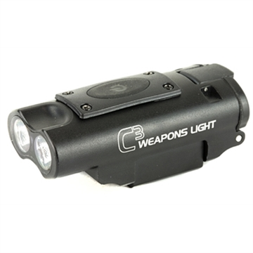 Picture of Lucid C3 Weapons Light 300 Lumen Blk