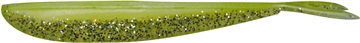 """Picture of Lunker City Fin-S Fish 2 1/2"""", Chartreuse Silk Ice, 20/Pack"""