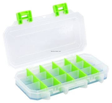 Picture of Lure Lock Small Utility Box With 3 Cavity, Ocean Blue Gel And Green Dividers