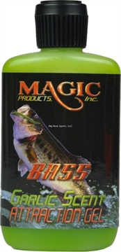 Picture of Magic Bait Attraction Gel Scent For Bass, 2 OZ Bottle, Garlic