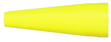 Picture of Maglite Asxx508 Traffic Wand C/D-Cell Flashlight Cone Yellow