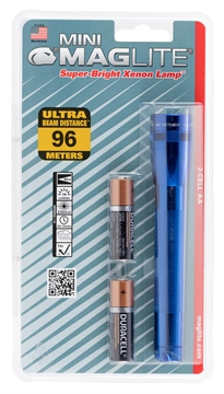 Picture of Maglite M2a116 Maglite Mag Incandescent Flashlight 2Aa Blue