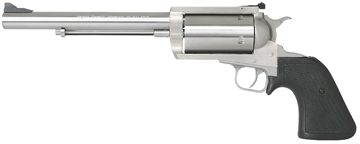"Picture of Magnum Research Bfr460sw7 Bfr Long Cylinder SS Single 460 Smith & Wesson Magnum 7.5"" 5 Black Rubber Stainless"