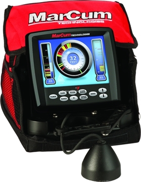 Picture of Marcum Color Sonar Ice System 8000W Dual Beam Xducer