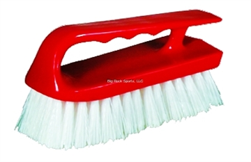 "Picture of Marine Master Scrub Brush 1.12"" Plastic Bristle Iron Style"
