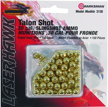 Picture of Marksman .30Cal Gold Steel Shot 150Ct Blister Card