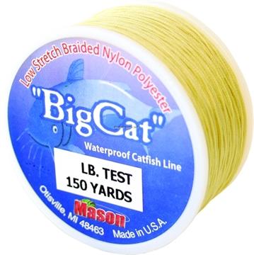 Picture of Mason Bigcat Braided Nylon Catfish Line 72Lb. 150Yds.
