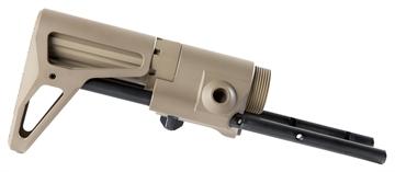 Picture of Maxim 8523976103 Cqb Ar15 Rifle Stock Aluminum Flat Dark Earth Silent Captured S