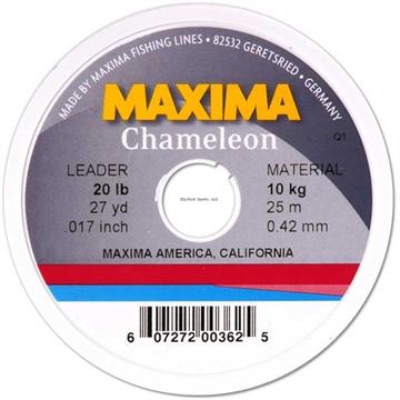 Picture of Maxima Chameleon Leader Wheel 10Lb 27Yds