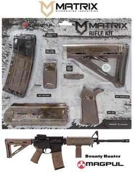 Picture of Mdi Magcom26-Bh Bounty Hunter Magpul Moe Kit Ar-15 Polymer