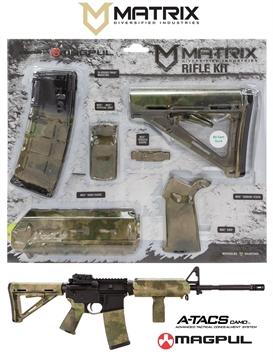 Picture of Mdi Magcom30-Fg A-Tacs FG Camo Magpul Kit Ar-15 Polymer