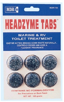 Picture of Mdr Headzyme Tabs 6/Pk