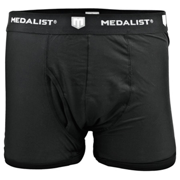 Picture of Medalist Boxer Briefs 2-Pack Tactical Shield Black Large
