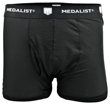 Picture of Medalist Boxer Briefs 2-Pack Tactical Shield Black Small