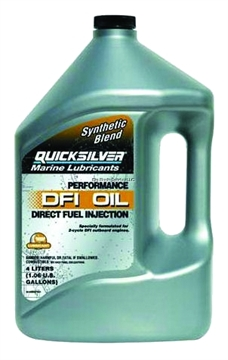 Picture of Mercury Outboard Motor Oil Gal 2-Cycle QS Dfi