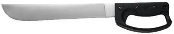 "Picture of Meyerco Mcmachxe Hunter Fixed 420 SS Axe/Machete 12"" Blade Rubber Handle"