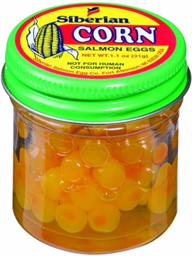 Picture of Mike's Corn Eggs Yellow/Corn 1.1Oz Jar