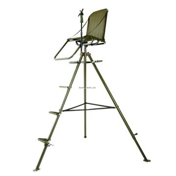 Picture of Millennium Treestands 10Ft Aluminum Tripod Stand, Swivel Seat, Footrest