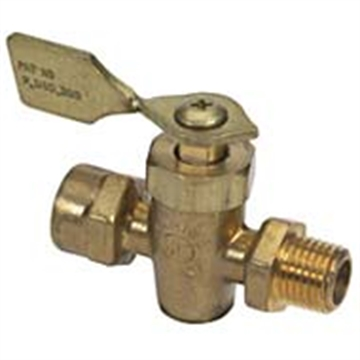 Picture of Moeller 1/4 Fntp Brass 4-Way Valve