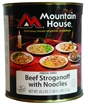 Picture of Mountain House #10 Can Beef Stroganoff W/Noodles