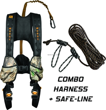 Picture of Muddy Crossover Harness Combo - S/M