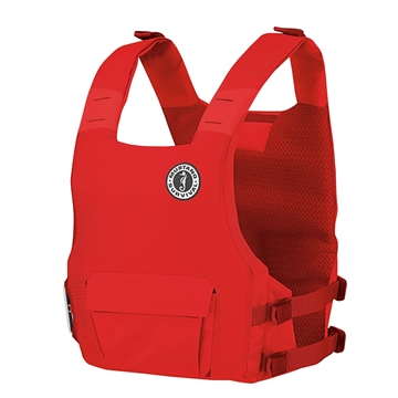 Picture of Mustang Survival Khimera Hybrid Dual Floatation Pfd Red