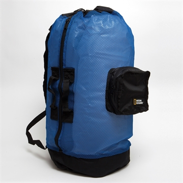 Picture of Nat Geo Clamshell Mesh Backpack Dlx 5 Pocket -Bl/Bk