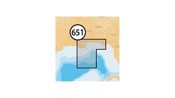Picture of Navionics Central Gulf OF Mexico