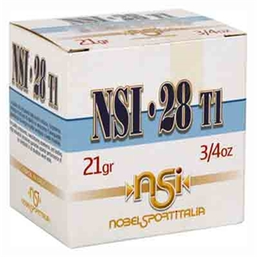 """Picture of Noblesport 28Ga. 2.75"""" 1300Fps. 3/4 Oz. #8 25-Pack"""