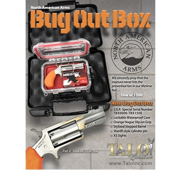 "Picture of 22Lr 2"" Bugout Box SS XS Sght#"