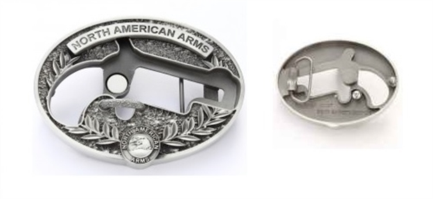 North American Arms Naa Belt Buckle, Fits 1-1/8