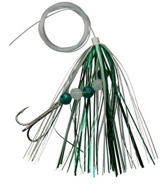"Picture of Northport Nailer Nailer Fly Trolling Fly  4"", Atomic Green Glow, #1/0 Treble Hook"