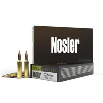 Picture of Nosler  22  55Gr E-Tip (20 CT