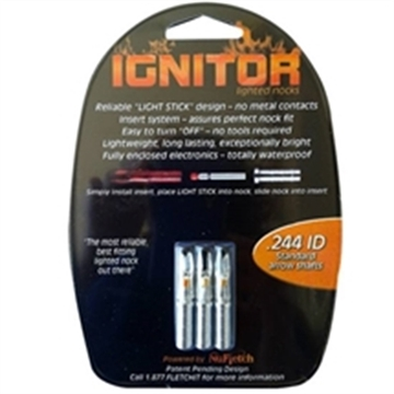 Picture of Nufletch Archery .244 Igntr L/N Std Org 6Pk