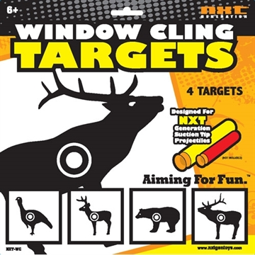 Picture of Nxt Generation Toys Generation Animal Window Cling Targets 4 Animal Targets